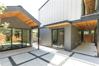 Austin Single Family Home Pending - Taking Backups: 4418 Mount Vernon Dr #B
