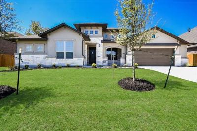 Lago Vista Single Family Home For Sale: 7606 Turnback Ledge Trl