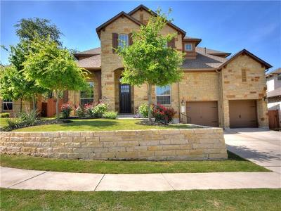 Cedar Park Single Family Home Pending - Taking Backups: 3304 Crystal Hill Dr