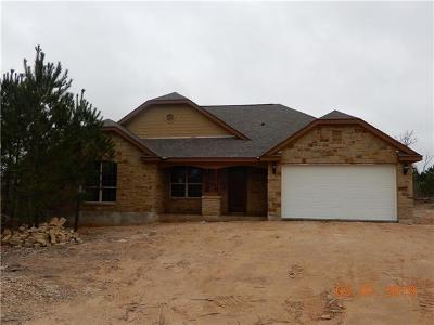 Paige Single Family Home For Sale: 179 Cardinal Loop