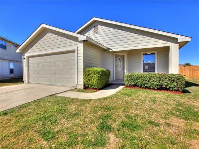 Hutto Single Family Home For Sale: 221 Madison Ln