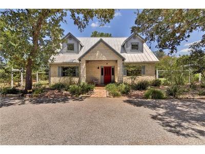 Hays County Single Family Home For Sale: 7912 Shantivana Trl