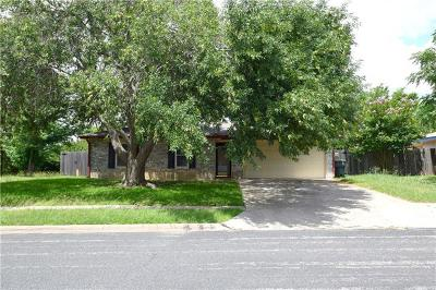 Killeen TX Single Family Home For Sale: $97,900