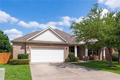 Cedar Park Single Family Home For Sale: 3114 Argento Pl