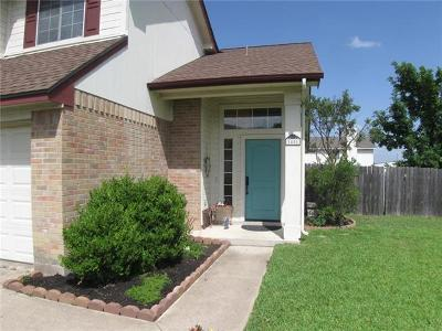 Pflugerville Single Family Home For Sale: 1401 Saint Leger St