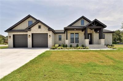 Burnet County Single Family Home For Sale: 101 Travis Trl