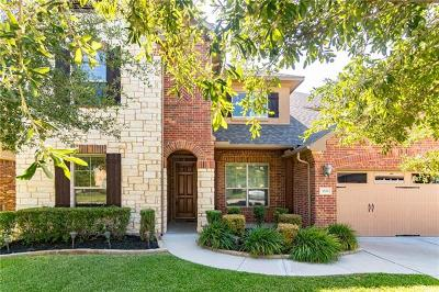 Round Rock TX Single Family Home For Sale: $450,000