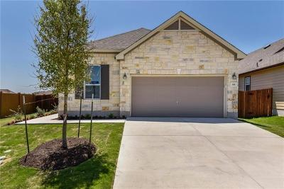 Georgetown Single Family Home For Sale: 301 Tordesillas