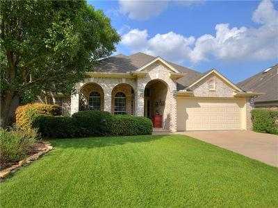 Cedar Park Single Family Home For Sale: 2914 Briona Wood Ln