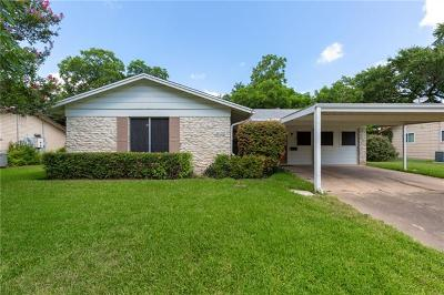 Austin Single Family Home For Sale: 8102 Parkdale Dr
