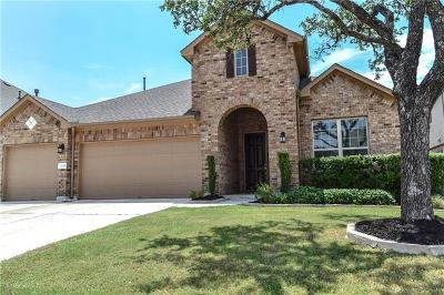 Leander Single Family Home For Sale: 2613 Shumard Bluff Dr
