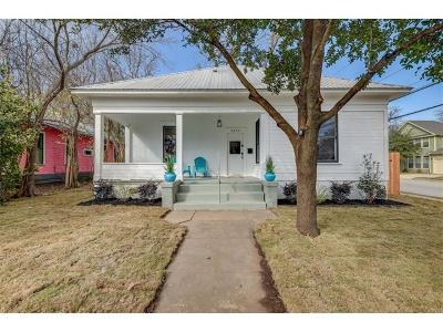 Austin Single Family Home Pending - Taking Backups: 4412 Avenue C