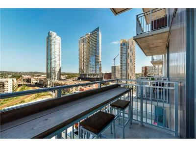 Travis County Condo/Townhouse For Sale: 222 West Ave #1110