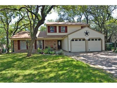 Round Rock Single Family Home For Sale: 1805 Lime Rock Dr