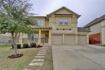 Round Rock Single Family Home Pending - Taking Backups: 4414 Angelico Ln