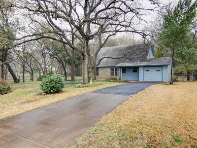 Travis County, Williamson County Single Family Home For Sale: 507 Red Bud Trl
