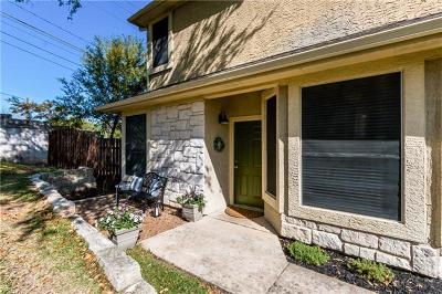 Round Rock Condo/Townhouse For Sale: 3300 Forest Creek Dr #36