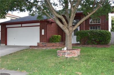 Pflugerville Single Family Home For Sale: 713 Black Isle Dr