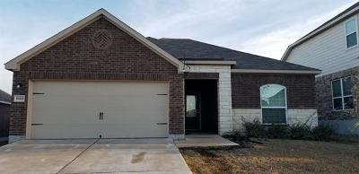 Manor Single Family Home For Sale: 19821 Wt Gallaway St