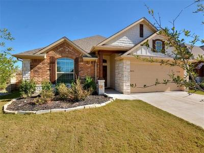 Liberty Hill Single Family Home For Sale: 128 Assisi Ln