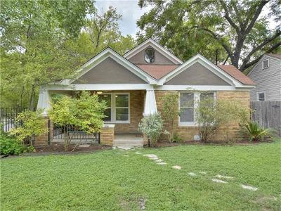 Austin Single Family Home For Sale: 4500 Avenue H