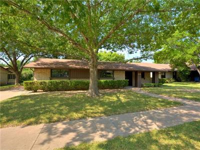 Hays County, Travis County, Williamson County Single Family Home For Sale: 515 Battle Bend Blvd