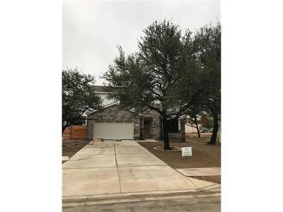 Cedar Park Single Family Home Pending: 1502 Fox Sparrow Trl