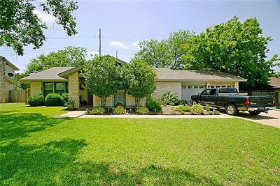 Round Rock Single Family Home For Sale: 1002 Deepwood Dr
