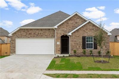 Manor Single Family Home For Sale: 11712 Emerald Springs Ln