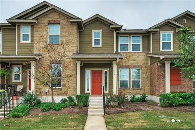 Cedar Park Condo/Townhouse For Sale: 710 Lost Pines Ln