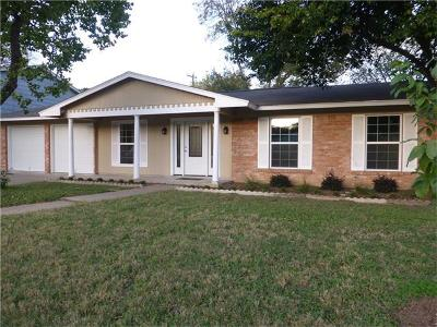 Austin Single Family Home For Sale: 2806 Loyola Ln