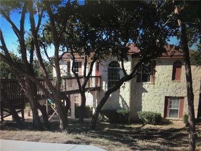 Lago Vista Single Family Home For Sale: 2402 N Fillmore Cv S