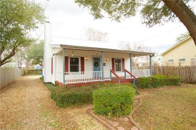 Bastrop County Single Family Home For Sale: 1102 Jefferson St