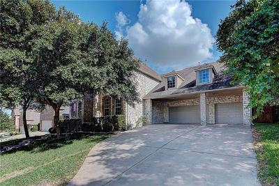 Round Rock Single Family Home For Sale: 2047 Golden Bear Dr