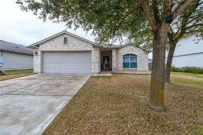 Hutto Single Family Home Pending - Taking Backups: 120 Baldwin St