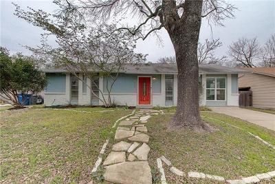Austin Single Family Home Pending - Taking Backups: 10100 Woodstock Dr