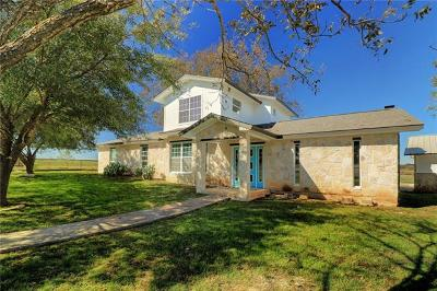 Williamson County Single Family Home For Sale: 2300 County Road 219