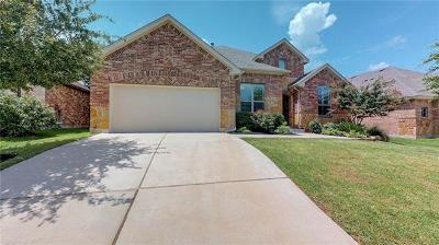 Cedar Park Single Family Home For Sale: 2307 Brownstone Ln