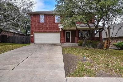 Leander Single Family Home For Sale: 1707 Lomita Dr