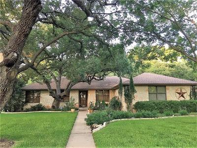 Round Rock Single Family Home For Sale: 3003 Live Oak St