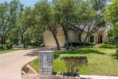 Austin Single Family Home For Sale: 3 Grapewood Ct