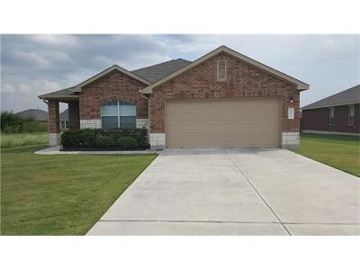 Pflugerville Single Family Home Pending - Taking Backups: 19828 Harrier Flight Trl