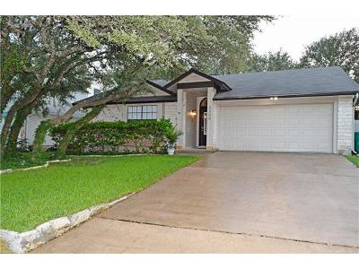 Cedar Park Single Family Home Pending - Taking Backups: 3309 Sweetgum Trce