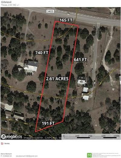 Georgetown Residential Lots & Land For Sale: 1341 Fm 3405