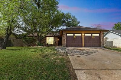 Pflugerville Single Family Home For Sale: 1203 Dove Haven Dr