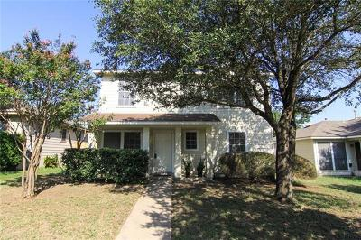 Pflugerville Single Family Home For Sale: 117 Segovia Way