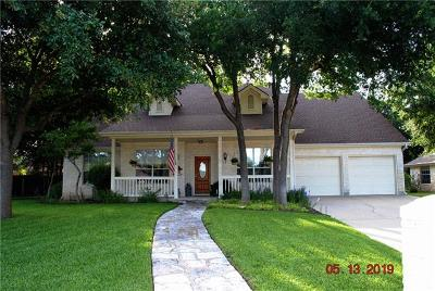 Pflugerville, Pf, Rrw, Round Rock, Rre, Hu, Hutto, Hutto/taylor/coupland, Gtw, Georgetown, Gte, Cln, Cedar Park, Cedar Park/leander, Cls, Cedar Park/leander, Lh, Cedar Park/leander Single Family Home For Sale: 109 Kathi Ln