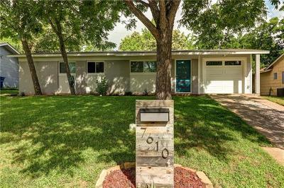 Austin Single Family Home For Sale: 7610 East Crest Dr