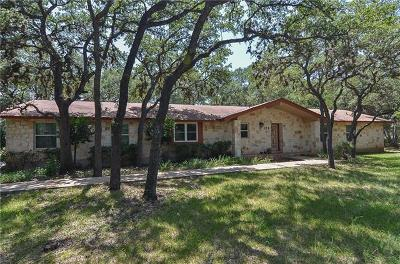 Leander Single Family Home For Sale: 125 Woodland Trl