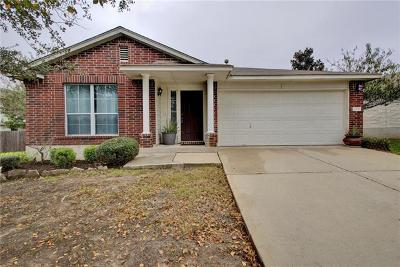Pflugerville Single Family Home For Sale: 1108 Darjeeling Dr